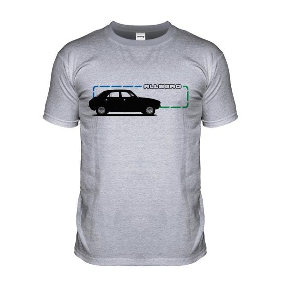 super jakość ekskluzywny asortyment stabilna jakość Allegro Classic Retro 80s Car T-shirt Old British Motor Tshirt GB T Shirt  Tee