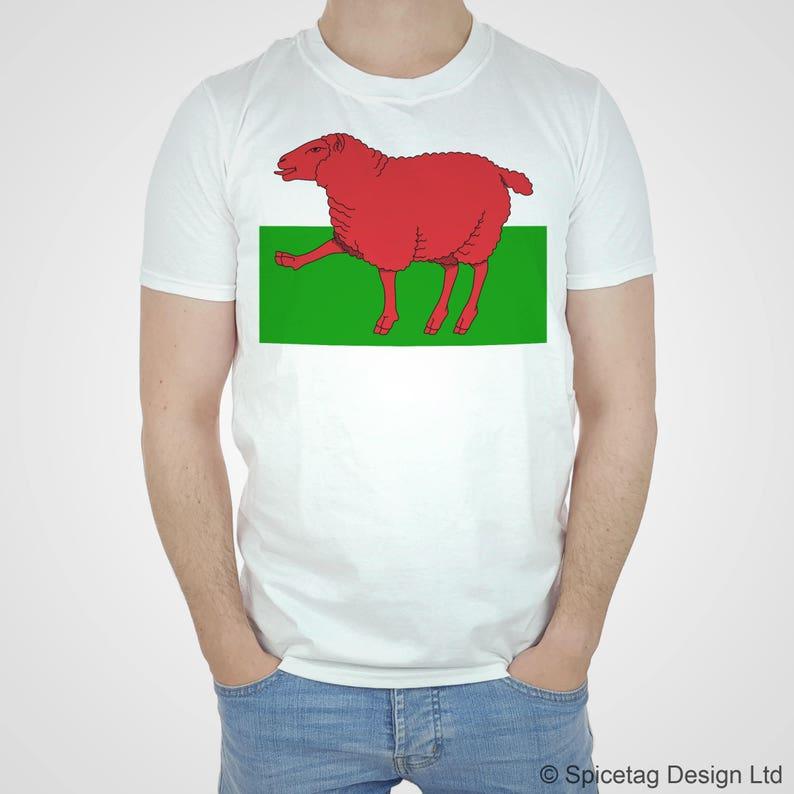 Wales T-shirt Welsh Tshirt Proud Funny Dragon Flag Tee Sheep Top National  Rugby ... Wales T-shirt Welsh Tshirt Proud Funny Dragon Flag Tee Sheep Top  ... b32bb5bdc