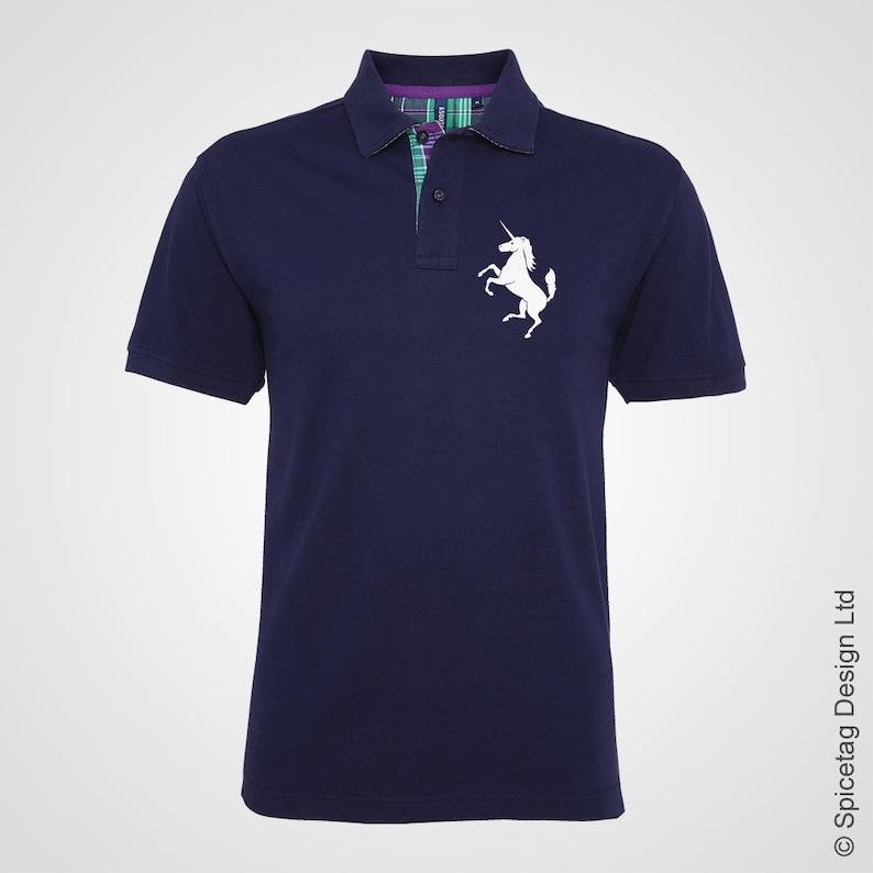 Premium Scotland Polo Shirt Tennis Murray Poloshirt T-shirt 2018 Championship Collar Top Tournament Racket Retro Flag National Mens