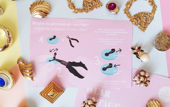 Lanvin - black triangle earrings, vintage art dec… - image 8