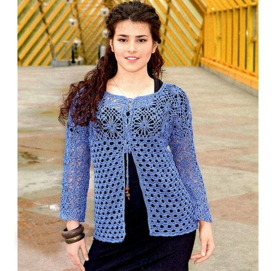 Crochet Blouse Pattern Detailed Tutorial In English Long