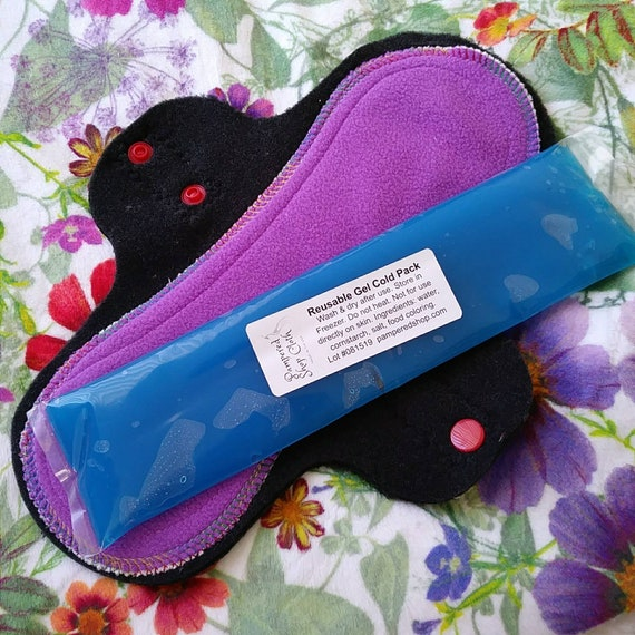 Flannel /& Bamboo Pamperedshop Everyday Breathable pantyliners