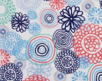 Spiro Floral Minky top Pads