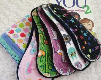 Pre-teen Easy Care Cloth Pad Starter Set