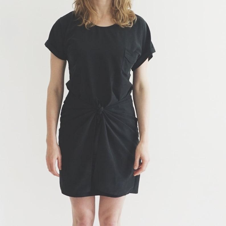 Tie Dress PDF Sewing Pattern for Women  Women's Dress image 0