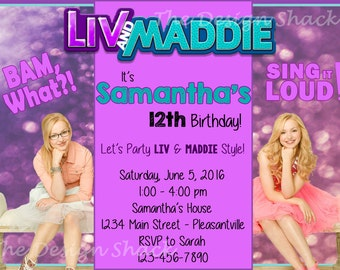 Liv And Maddie Etsy