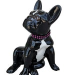 """French Bulldog statue, model """"Sandy"""" decoration Laure Terrier, height 7.9 inches"""