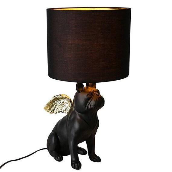 French Bulldog Dog Lamp With Wings, French Bulldog Lamp