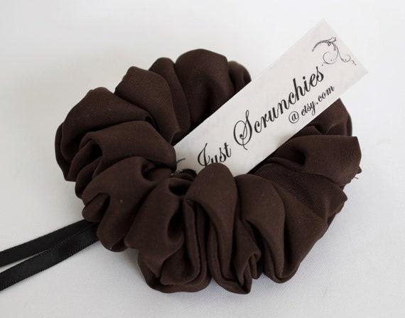Silk Hair Scrunchie by Just Scrunchies are Gentle Hair Ties  8ae28baf6c0