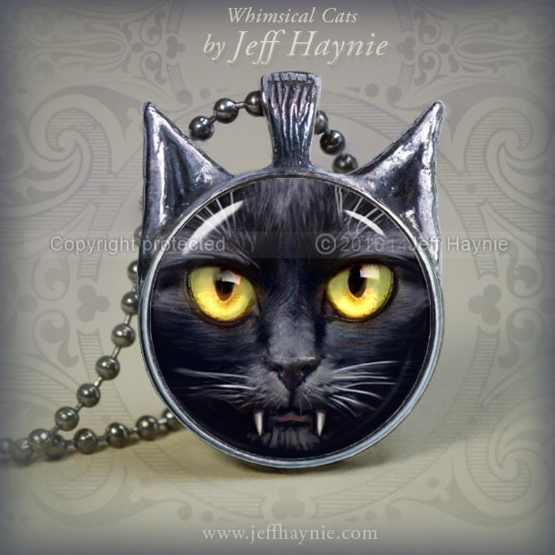 SC5 Vampire Cat pendant