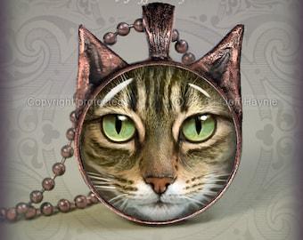 TBKBR5 Brown Tabby Cat pendant