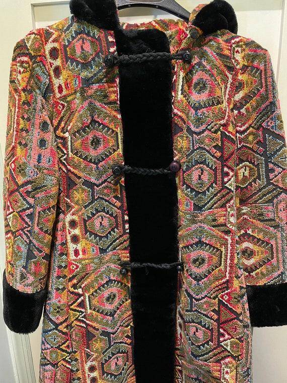 Ruby Martin tapestry coat