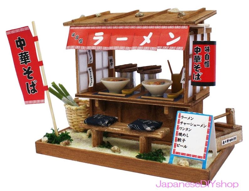 Doll House Miniature Model Kit Figure Handcraft Japanese Tea Shop Billy