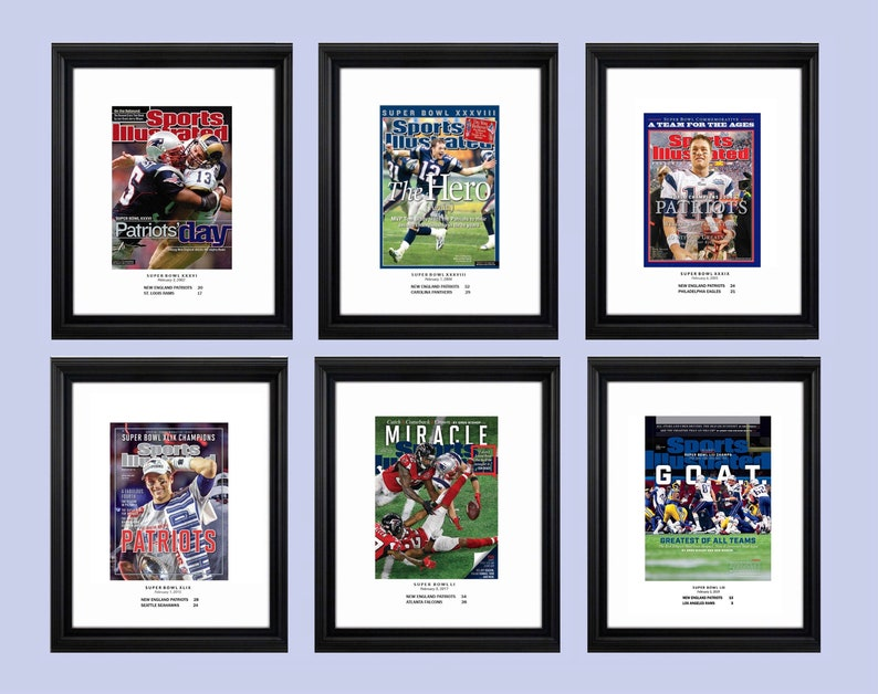 The Patriots 6 Super Bowl Championships and How Sports Illustrated Covered  Them ... The Patriots 6 Super Bowl Championships and How Sports Illustrated  ... 0fbc701c2