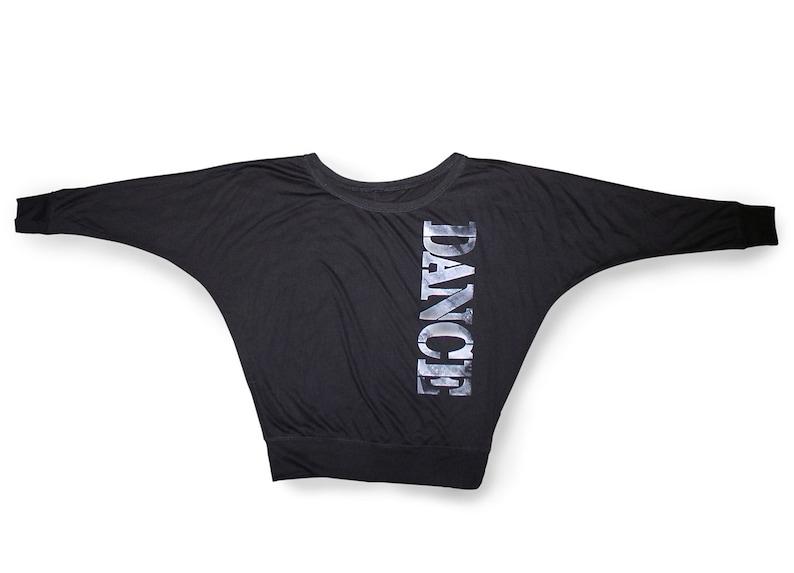 e9daf9b7c5bef8 New Item. Dance Shirt. Soft Long Sleeve Black Dance Shirt. | Etsy