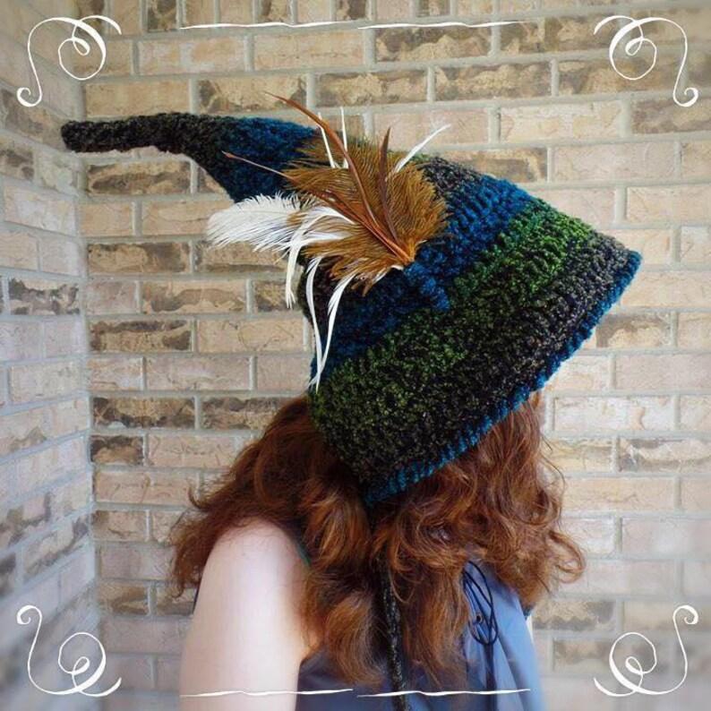 Woodland Fairy Hat Pattern Only  1c309b769c7