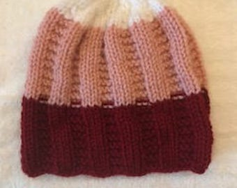 Hand Knit Toddler cap
