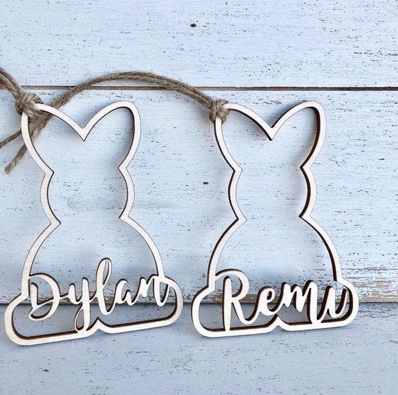 decortive ester ccents easter rabbit decor bunny.htm personalized easter basket bunny rabbit tag easter basket etsy  personalized easter basket bunny rabbit
