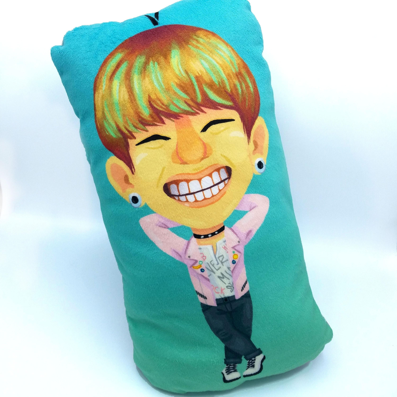 V Kim Taehyung BTS Bangtan Boys Plush Pillows K-Pop