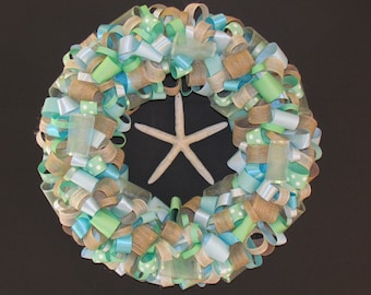 Beachcomber Ribbon Wreath