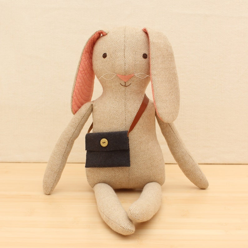 PDF Sewing Pattern  Bo the Bunny image 0