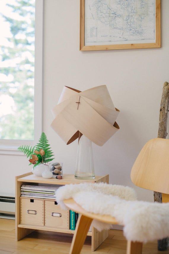 Wood Lamp Shade Wood Floor Lamp Shade Wood Table Lamp Shade Etsy