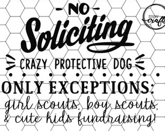picture about Funny No Soliciting Sign Printable known as No soliciting print Etsy