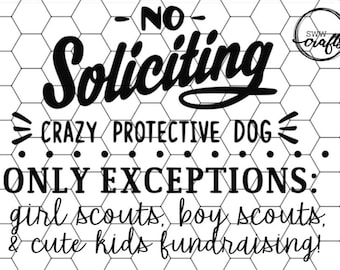 image about Funny No Soliciting Sign Printable referred to as No soliciting print Etsy