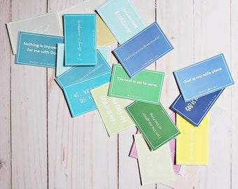 Affirmation Cards For Christians - Printable - Affirmation Cards - Build Up Your Faith