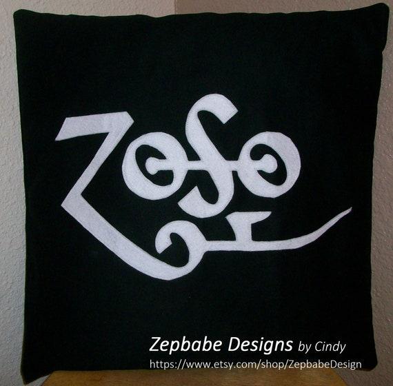 Led Zeppelin Four Symbols Pillow Cases