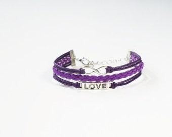 10 Meters Nylon Knotting Cord Cardinal Purple 2mm 100228