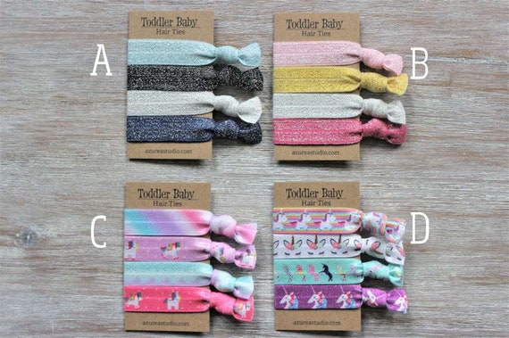 Toddler Child Small Hair Ties Sets-Dogs Fur Ties Sets