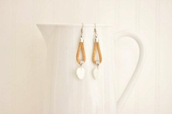 Cork Shell Earrings