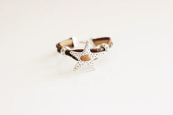 Cork Star Bracelet