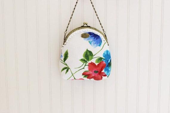 Floral Handmade Purse