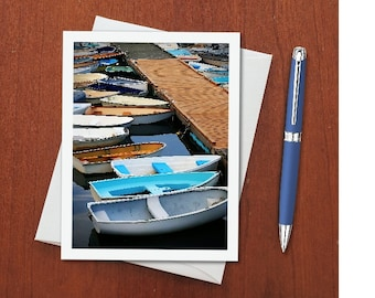 Photo Note Card, Blank Note Card, Blank Greeting Card, Single or Multiple Pack