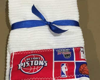 Detriot Pistons Hand Towels