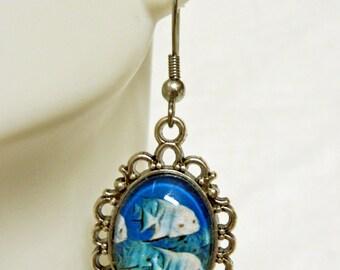 Atlantic spadefish earrings - SAP07-001
