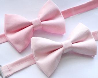 Pink bow tie, boys bow tie,mens bow tie, baby bow tie, adult bow tie, wedding bow tie