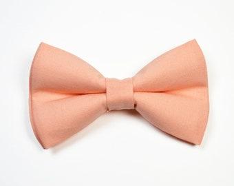 9bfd0598697a Bellini Bow tie, Peach Bow tie for Adult, Children, Baby, Boy,Ringbearer,  Groomsmen,,Bellini, Peach
