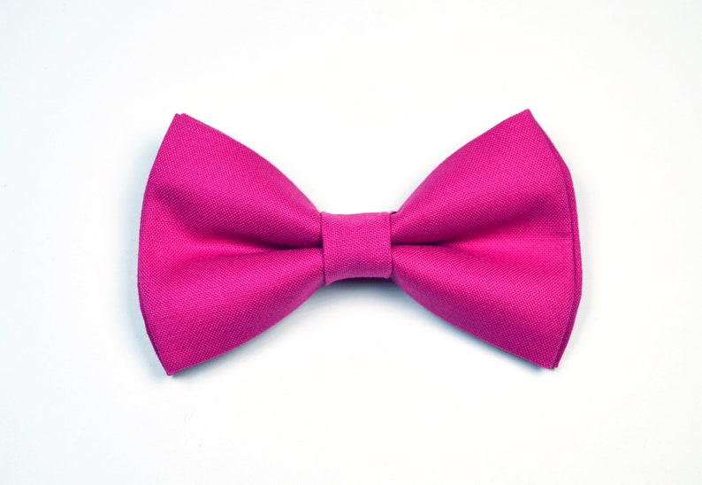 6e8e6f797a75 Begonia Bow tie Fuchsia Pink bow tie boys bow tiebaby bow | Etsy