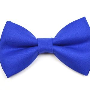 Malibu Blue Bow Tie For babyToddlerTeenAdultwith Adjust strapClip on
