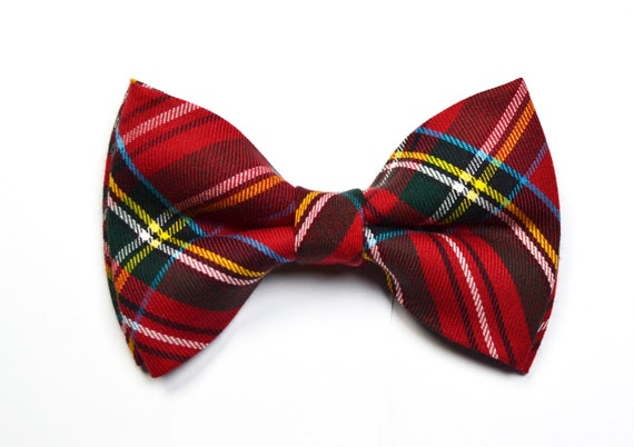 red suspender Christmas bow tie baby bow tie,adult bow tie green suspender Christmas Green Plaid bow tie and Red or Green Suspender Set