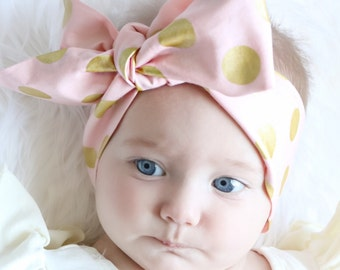 Blush Pink Head Wrap