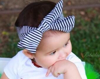 Pin Stripe Head Wrap