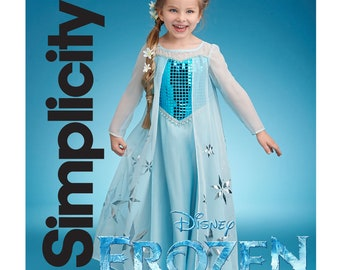 Modest Girls Frozen Elsa Coronation Snow Queen Princess Costume Party Dress And Cape Clothing, Shoes & Accessories Kids' Clothing, Shoes & Accs
