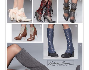 Misses' Spats - Boot & Shoe Covers - McCall's M7706