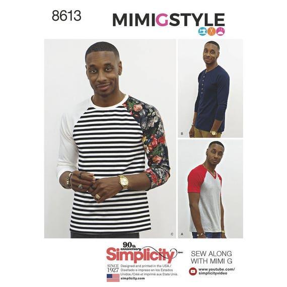 Patrón simplicidad 8613 hombres de la tapa del Knit por Mimi G