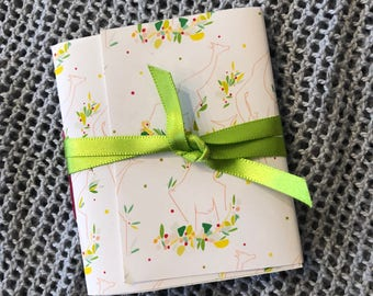 mini notebooklets
