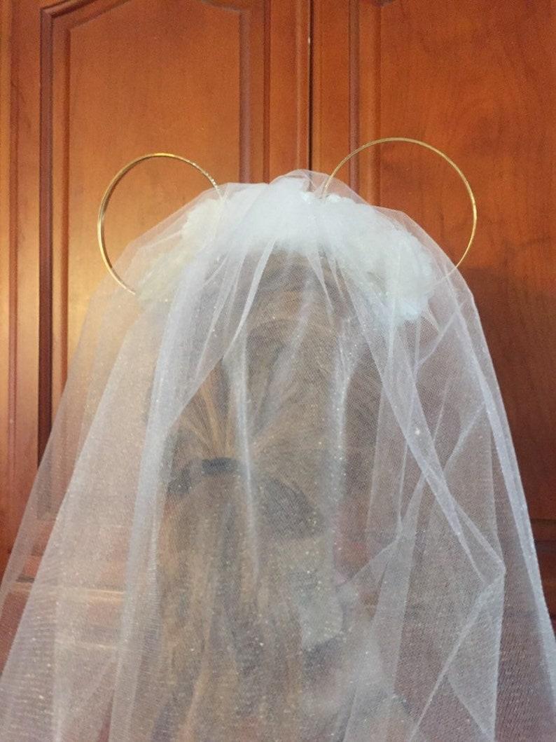 Wedding Minnie Ears Headband